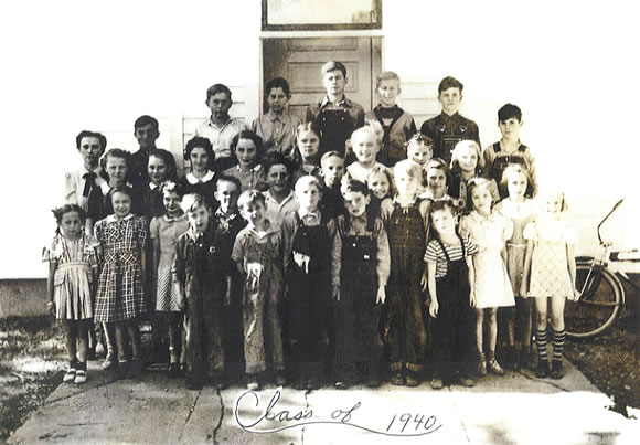 Traver School Class of 1940
